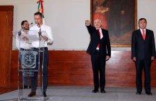 Con cambios en su gabinete, pareciera que Alejandro entrega el timón a su padre José Murat