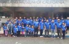 Participan migrantes mixtecos en actividades de Fresno, California