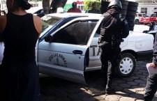 Aseguran a presuntos ladrones de autopartes