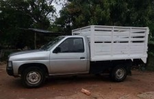Hurtan otra camioneta en el Centro de Putla