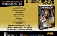 Presentarán en Chiapas libro biográfico del padre y activista Alejandro Solalinde
