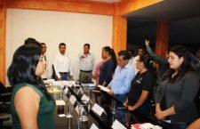 Renuncia tesorero de Huajuapan; ex secretario ocupa su lugar