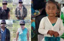 Policías de SSP-Puebla detienen a 4 por el asesinato de Flor Itzel, de 6 años; 2 son tías de la menor
