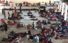 Migrantes de la Segunda caravana llegan a Santo Domingo Ingenio