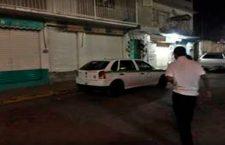 Lesionan con arma de fuego a guardia de seguridad en bar
