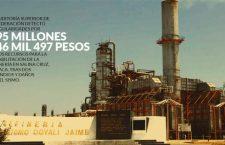 La Auditoría halla 595 millones en pagos mañosos de Pemex a 3 empresas, en refinería de Oaxaca