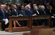 Funeral de George H. W. Bush: las tensiones detrás de la histórica foto de cuatro presidentes de EE.UU. juntos (y otros momentos destacados)