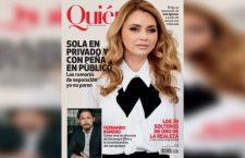 """""""Sola en privado y con Peña en público"""": Angelica Rivera cuenta la verdad sobre su vida con Peña Nieto"""