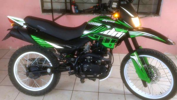 Hallan motocicleta hurtada en el Centro de Huajuapan