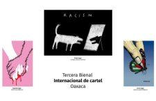 Tercera Bienal Internacional de Cartel Oaxaca ya tiene ganadores; participaron 600 carteles sobre tema de la represión