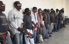 Presume Policía Estatal detener grupo armado y resultan ser 14 campesinos afromexicanos