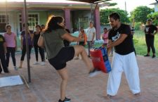 Promueven taller de defensa personal para prevenir violencia contra mujeres