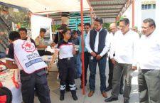 Inició la Feria Interinstitucional de la Prevención del Delito en Huajuapan