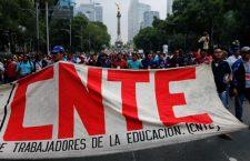 CNTE suspenderá clases 2 días por protestas en CDMX