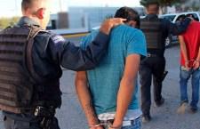 Asegura policía a dos hombres acusados de lesiones