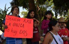 """Con paro de 48 horas, @SECCIONXXII hace """"resonar tambores de batalla"""" por la abrogación total de la reforma de #PeñaNieto"""