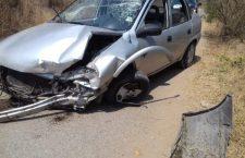 Se impacta contra cerro en la carretera  Huajuapan-Santiago Juxtlahuaca | Informativo 6y7