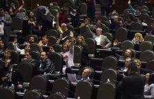 CIUDAD DE MÉXICO, 04ABRIL2019.- Se realizó la Sesión Ordinaria de la Cámara de Diputados en la que la Mesa Directiva realizó la declaratoria de reforma constitucional del artículo 19 de la Carta Magna, en materia de Prisión Preventiva Oficiosa.  FOTO: MARIO JASSO /CUARTOSCURO.COM