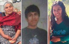Desaparecen dos mujeres y un triqui en la Mixteca