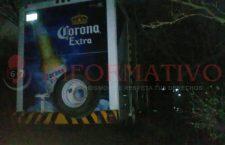 Asaltan a camión cervecero; se llevaron 100 mil pesos | Informativo 6y7