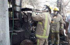 Dos mujeres con crisis nerviosa por incendio en vivienda | Informativo 6y7