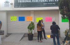 Personal del TEEO exige pago de quincenas y prestaciones