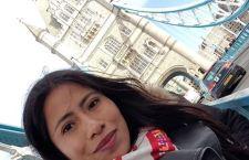 Yalitza Aparicio se va de México y se despide con una emotiva foto