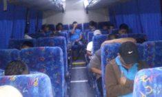 Vinculados a proceso por aparentemente trasladar a migrantes; Fueron asegurados en la Mixteca