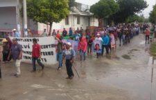 Personas desplazadas y activistas de Chiapas recorren pueblos del Istmo para exigir justicia