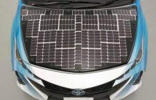 Toyota ha creado un modelo de auto que funciona con energía solar y se carga mientras se conduce