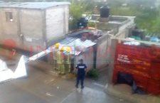 Tromba les 'vuela' el techo de su casa en #Huajuapan | Informativo 6 y 7