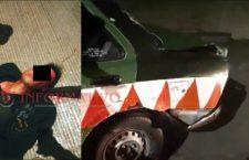 Lugareños aseguran a hombre por el robo un taxi; aparentemente fue golpeado | Informativo 6 y 7