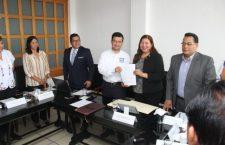 FGEO y Ayuntamiento de Huajuapan signan convenio de colaboración
