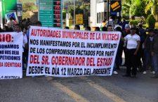 Ediles de la Mixteca demandan al gobierno partida presupuestal