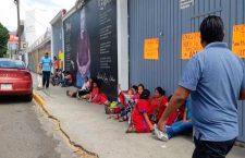 Desplazados de San Miguel Copala piden reubicación de 78 familias