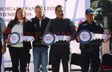 Recibe Huajuapan tres patrullas más para la Policía Municipal