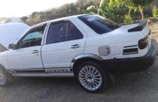 Hurtan vehículo a empleado del ADO en Huajuapan