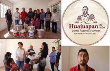 Recibió material comedor comunitario de San Pedro Yodoyuxi, previo a su apertura