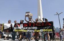 Argentinos marchan para exigir libertad de periodista encarcelado en Bolivia