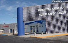 Esperan confirmación de 2 casos de Covid-19 en Izúcar de Matamoros y Acatlán de Osorio