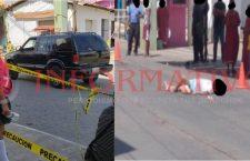 Fallece mujer supuestamente al pasarle encima una camioneta en Putla