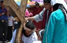 Se queda San Sebastián Progreso sin festejo de 40 años de representación en vivo del viacrucis