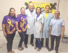 Fotos: Palestra sobre Hepatites Virais no Posto da Maré em Macaíba