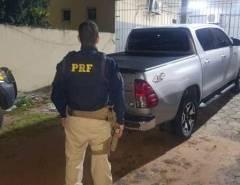 Em São Gonçalo do Amarante veículo de luxo adulterado é apreendido pela PRF