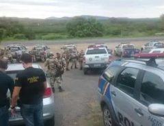 Atenção! Imagens Fortes: Vereador, esposa e mais 06 suspeitos de envolvimento na morte de PM em Pernambuco são mortos em confronto com a polícia na Paraíba
