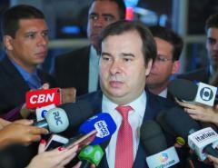 Brasília: Maia quer aumentar segurança jurídica para atrair investimentos