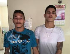 Policia civil prende dois irmãos suspeitos de vários crimes na cidade de Areia Branca