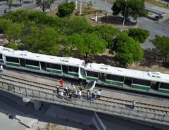 ACIDENTE: Colisão entre dois VLTs deixa 37 feridos em Fortaleza
