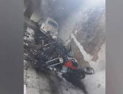Incêndio destrói garagem com motos em Jaçanã