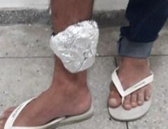 Homem com tornozeleira eletrônica é preso após trocar tiros com a PM